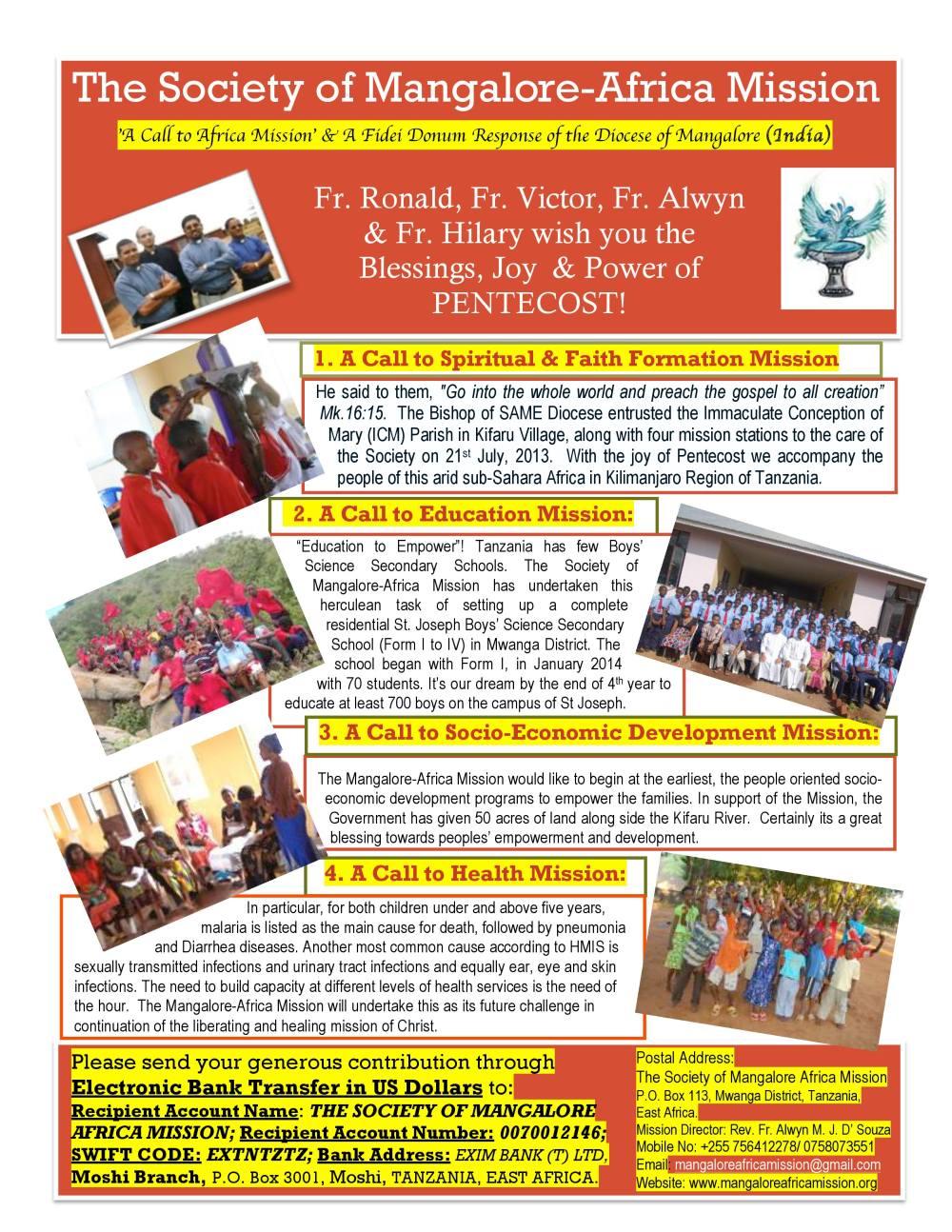 Hoekbank N Joy Mission.Mangalore Africa Mission Wish You The Blessings Joy And