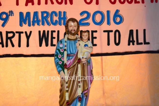 Patron Saint - St  Joseph's Feast Celebration at St