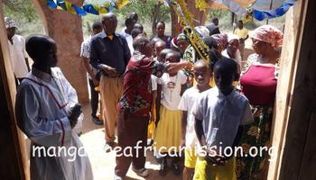 First communion celebration in Jipe Substation of Kifaru Parish