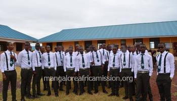 Tanzania : Graduation ceremony held at St. Joseph Boys' Secondary School
