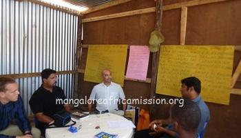Mr. Charles Camera of Sweden visits Mangalore Africa Mission