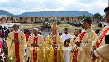 Tanzania : The Feast of Nativity and Blessing of new corn celebrated