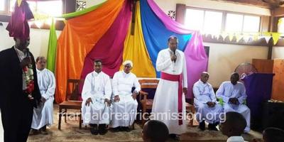 Mangalore Bishop Visits KALIMANI Outstation of Kifaru Parish