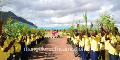 Palm Sunday Celebration at St. Joseph school