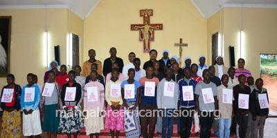 10 days Residential Spoken English Course held at Kifaru Parish in Same Diocese