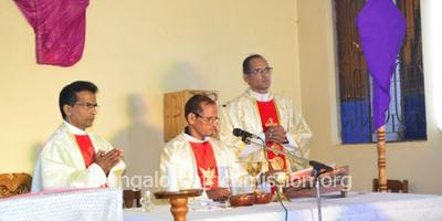 Maundy Thursday Celebration at Immaculate Conception of Mary Parish Kifaru