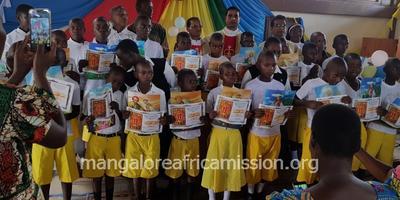 Christmas and First Communion celebration in Kalimani Substation of Kifaru Parish of Mangalore Africa Mission