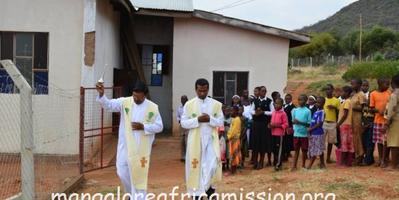 Blessing of Parish Compound & Fence