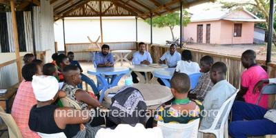 Youth Meeting of Kifaru Parish held