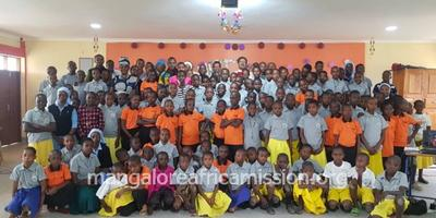 Three days faith formation camp to the children held at Kifaru in Same Diocese